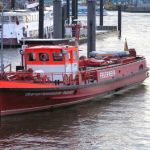 Feuerlöschboot in Hamburg