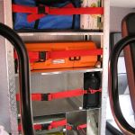 Zusätzlicher Stauraum in der Fahrzeugkabine