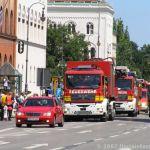 Fahrzeuge in Formation