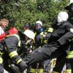 Personenrettung durch den Atemschutztrupp