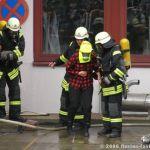 Personen werden evakuiert