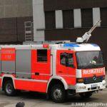 TLF zur Tunnelbrandbekämpfung