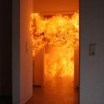 Bis zu 800 Grad erreichen die Flammen