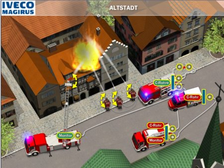 Firefighter online game iveco magirus