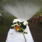 Strahlrohr Training (Quelle: FF Steinbach)