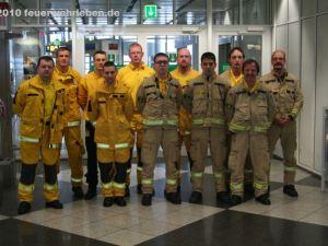 Teamfoto von @fire am Münchner Flughafen (Quelle: Irakli West)