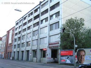Alle Feuerwehrhäuser von München im Überblick