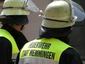 Feuerwehrleute Memmingen