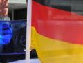 Deutschlandfahne Feuerwehrauto