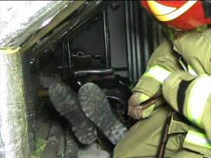 Endlosschlinge Feuerwehreinsatz
