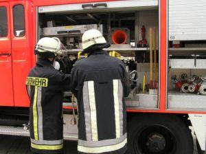 Ausbildung Feuerwehr Maschinisten