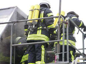 Feuerwehrkleidung Innenangriff