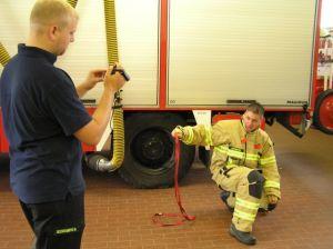 Bandschlinge Feuerwehreinsatz
