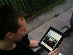 Patrick von thl.info hat mich im Sommer besucht und mir viele tolle Tipps im Bereich Unfallrettung gezeigt