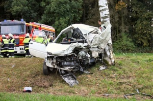 Bei Verkehrsunfällen haben die Unfallopfer oftmals schlimme Verletzungen (Bild: KFV Dachau)