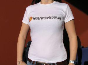 Das feuerwehrleben.de Girlie Shirt für die Frauen