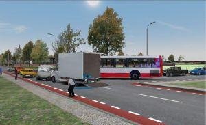LKW Unfall mit Linienbus (Foto: E-Semble)
