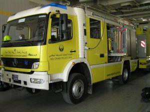 Im Ausland gibt es Unternehmen die Feuerwehr- und Rettungsdienstleistungen anbieten
