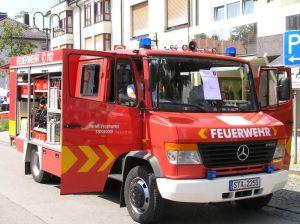 Hier sitzt jeder Handgriff, TSF-W einer kleinen bayerischen Feuerwehr