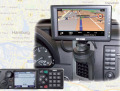 Die Einsatzadresse direkt auf dem Display, mit Digitalfunk möglich (Foto: Selectric)