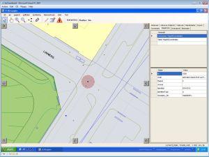 Der Ort des Anrufers wird direkt auf einer Karte dem Leitstellendisponent angezeigt (Foto: Intergraph)