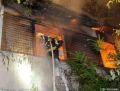 Alarmstufe 2 brennt Haus
