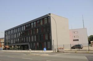 Die neue Feuer- und Rettungswache 1 in Dortmund (Foto: Feuerwehr Dortmund)