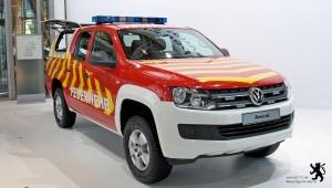 IAA Nutzfahrzeuge 2012 - Volkswagen Amarok Vorauslöschfahrzeug