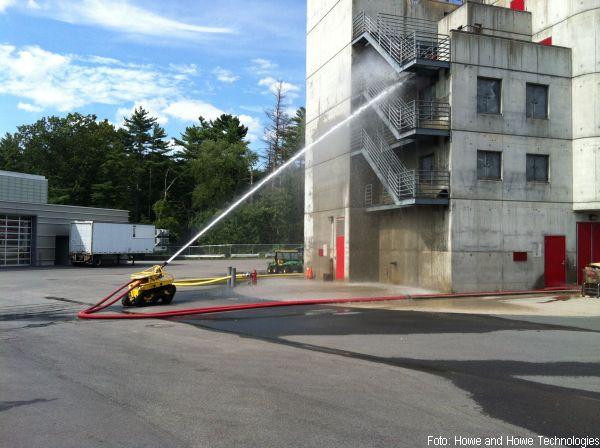 Feuerwehr Löschroboter