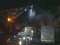 Moorfleet Feuer Bootshalle