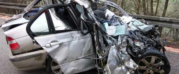 Innenraumerkundung Verkehrsunfall