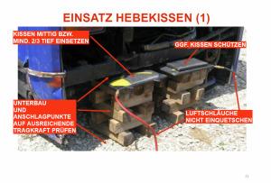 74 Seiten Grundlagenwissen über Hebekissen von Irakli West (Heavy Rescue Germany)