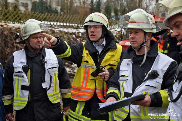 Großübung THW und Feuerwehr