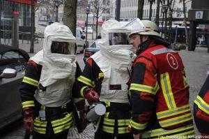 Drohung mit atomarer Strahlung in Saarbrücken