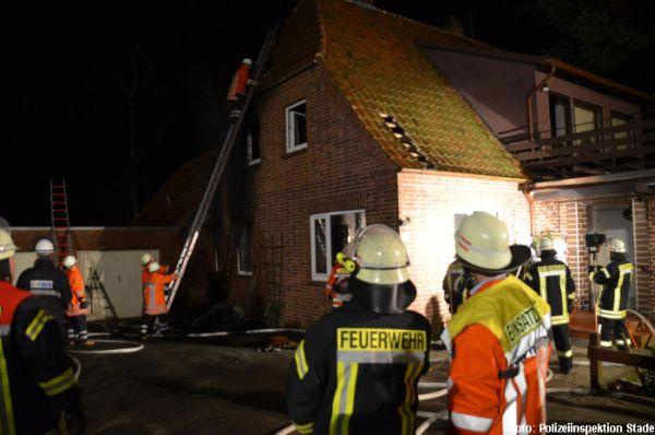 Brand Einfamilienhaus