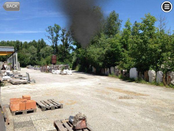 Garagenbrand Feuerwehr Training