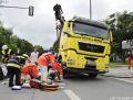 Feuerwehr München LKW Unfall