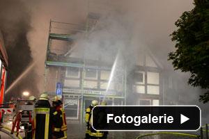 Brand Fachwerkhaus Holzminden