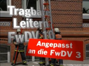 FwDV10 tragbare Leitern
