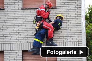 Höhenrettung THW Feuerwehr