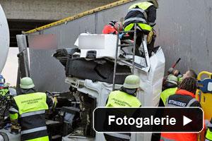 LKW Verkehrsunfall München