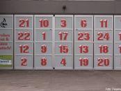 """Jeden Tag wird ein """"Türchen"""" des Adventskalenders geöffnet"""