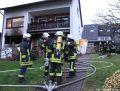 Brennende Person Feuerwehr