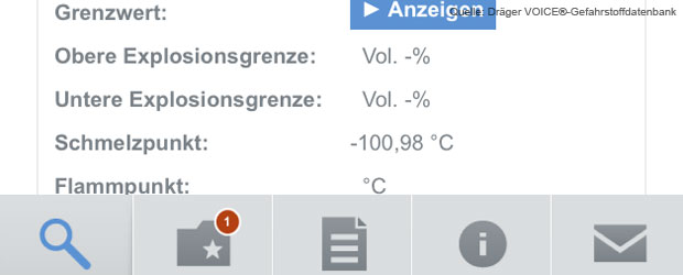 draeger-app-voice-gefahrstoffdatenbank