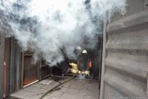 Situation nach der direkten Brandbekämpfung