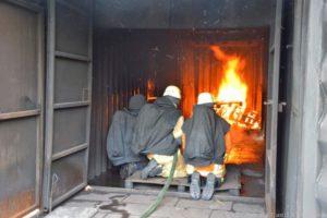 Situation vor der direkten Brandbekämpfung
